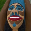 Lummi Nation totem pole ceremony  on English Camp parade ground Friday August 29